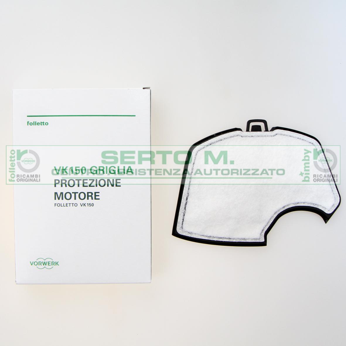 Griglia protezione motore folletto vk140 150 assistenza - Scheda motore folletto vk 140 ...